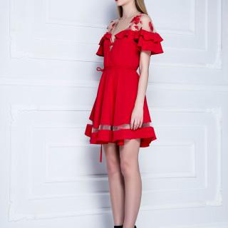 ''Lolita'' haljina-ogrtač sa karnerima i čipkom