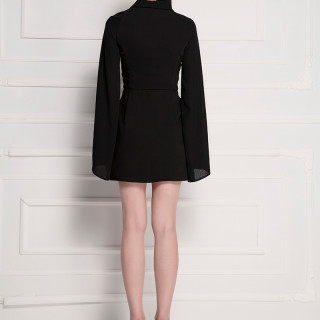Assymetrical blazer dress