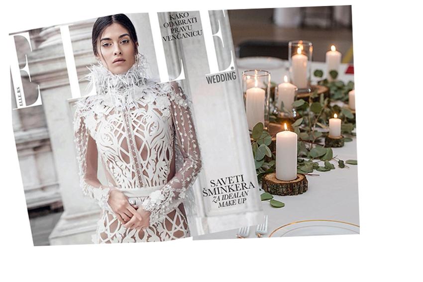 ELLE Wedding Cover Star: by Biljana Tipsarevic