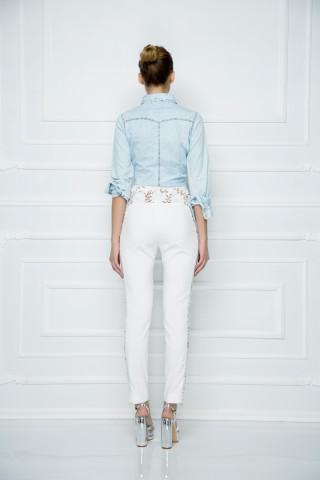 Košulja od izbeljenog džinsa